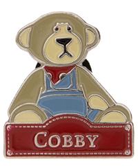 par Charlie Bears-Bnwt Ours, livre et pin badge Alice/'s Bear Shop-Sandy,
